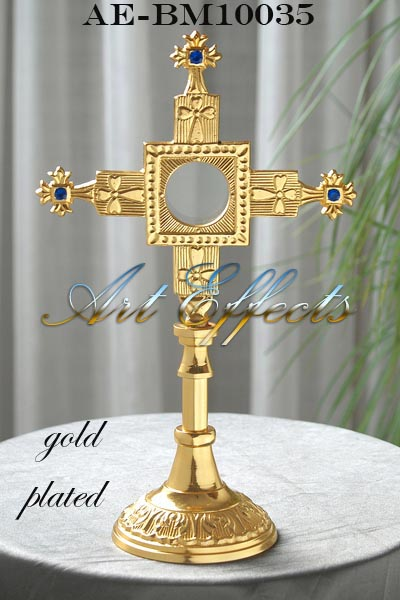 Brass Monstrance